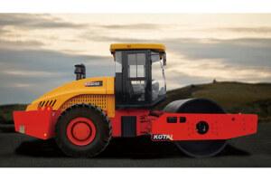 科泰KS205D全液压单钢轮振动压路机图片集