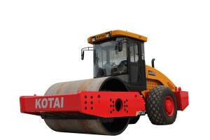 科泰KS255S单钢轮压路机(单驱)图片集