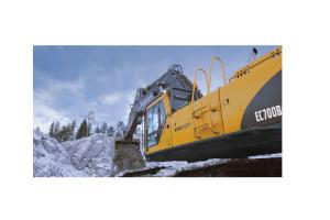 沃尔沃EC700B履带式挖掘机图片集