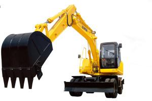 恒特HTL150-8轮式挖掘机图片集