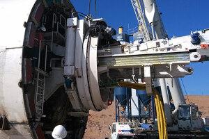 鐵建重工單護盾TBM