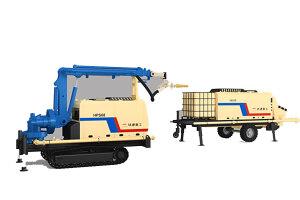 铁建重工HPS08+HBS30混凝土喷射机组