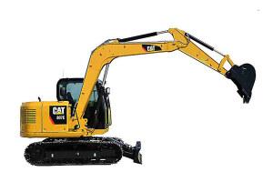 307E挖掘机图片