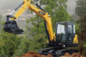 三一SY55C-9履带挖掘机