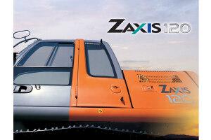 日立ZX120履带挖掘机图片集