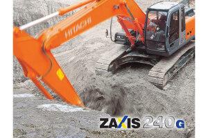 日立ZX240-3G履带挖掘机图片集