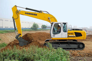 利勃海尔R 916 Litronic履带挖掘机图片集
