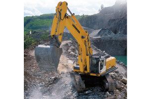 利勃海尔R 964 C Litronic履带挖掘机图片集