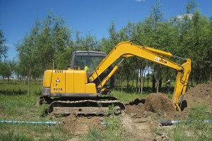 山重建机906D履带挖掘机图片集