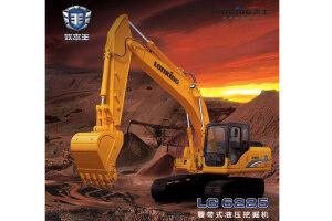 龙工LG6225E履带挖掘机图片集
