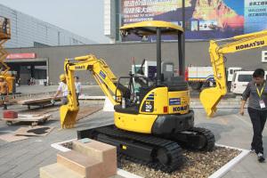 小松PC30MR-3履带挖掘机图片集