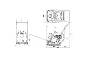 酒井PC800振动平板夯图片集