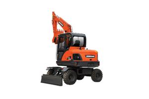 斗山DX60W轮式挖掘机图片集
