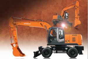 日立ZX210W-3轮式挖掘机