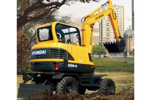 现代轮式挖掘机图片集3