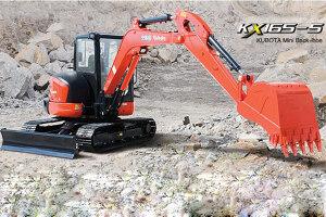 KX165-5挖掘机图片