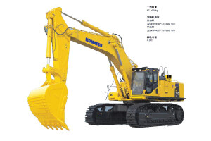 小松PC700LC-8履带挖掘机图片集