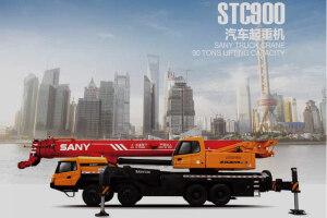 三一STC1000C汽车起重机