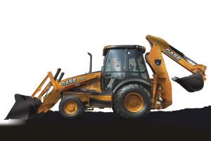 凯斯挖掘装载机图片集2