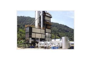 鐵拓機械GLB-3000成品倉底置式瀝青混合料攪拌設備
