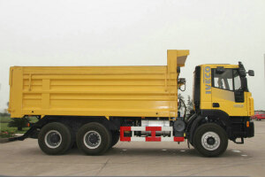 杰狮C100 390马力 6X4(CQ3255HTG364)矿用自卸车图片