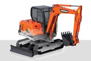 斗山DX55-9C履带挖掘机图片集
