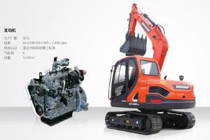斗山DX88-9C履带挖掘机图片集