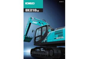 神钢SK210LC-10履带挖掘机