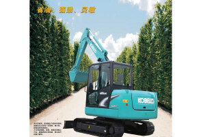 神钢SK60-8履带挖掘机