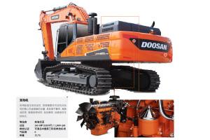 斗山DX430LC-9C履带挖掘机图片集