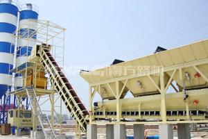 南方路机HZS200模块式水泥混凝土搅拌站