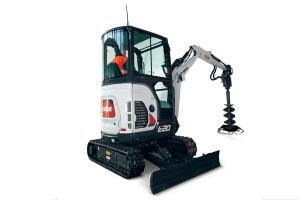 山猫E20小型挖掘机图片集