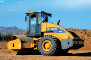 山工SEM518单钢轮ca88
