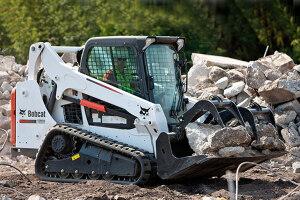 山猫T590履带式滑移装载机图片集