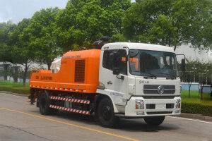 中联重科ZLJ5130THBE-8014M混凝土车载泵图片集