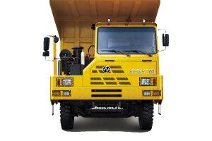 76吨矿用自卸车图片