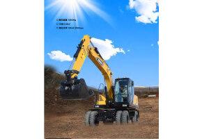 三一SY155W-10轮式挖掘机