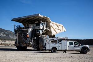 利勃海尔T 284矿用卡车图片集