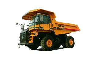 三一SRT33机械轮矿用自卸车