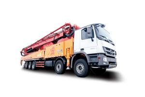 三一SY5540THB 660C-9混凝土泵车图片集
