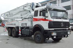 北奔8×4 3134FZ  NG80系列粉粒物料运输车