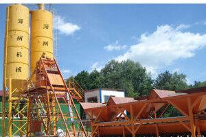 海州机械HZS25 混凝土搅拌站 图片集