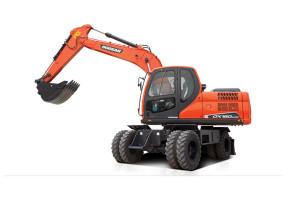 斗山DX150W-9C輪式挖掘機