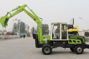犀牛XN7180半回转轮式挖掘机图片集