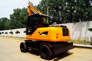 犀牛XN65-4L轮式挖掘机图片集