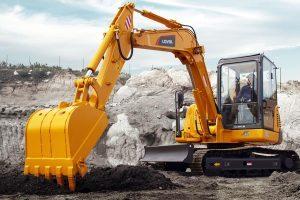 雷沃FR60E履带挖掘机图片集
