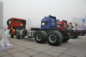 陜汽重卡德龍X3000 350馬力 6X4 5.6米自卸車(礦用加強)(SX32566T384)