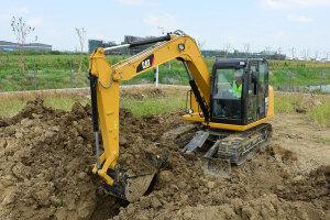 卡特彼勒307E2小型挖掘机图片集