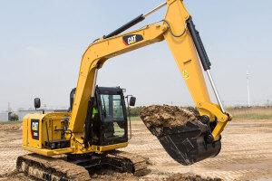 卡特彼勒308E2小型挖掘机图片集