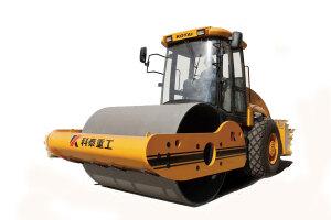 科泰KS125S单钢轮压路机(单驱)图片集